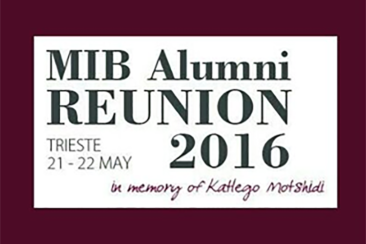 MBA at MIB School of Management remembers Katlego